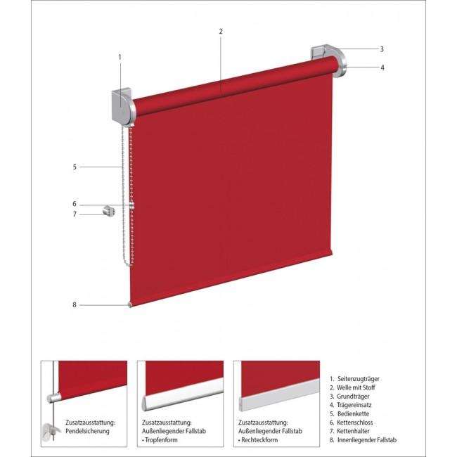 MHZ Basic Rollo (Seitenzug)
