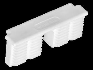 WAREMA Endkappe weiß, für Unterschiene 80 mm