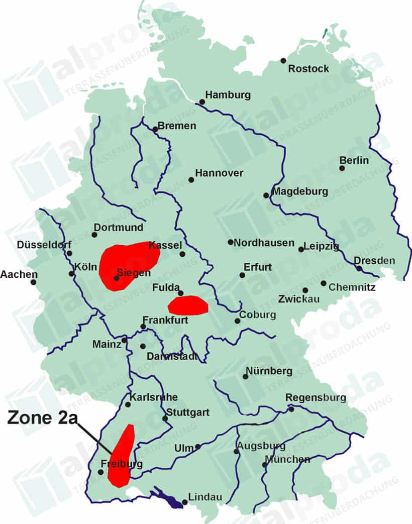 Schneelastzone 2 a