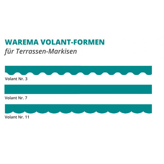 WAREMA Terrea G60 Gelenkarm-Markise