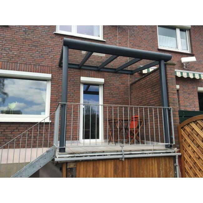 Terrassenüberdachung mit VSG-Verglasung, 8mm