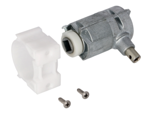 WAREMA Beipack Getriebe 3:1 mit Zapfen rechts, mit 6mm Vierkant