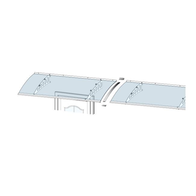 GUTTA Verbindungsset für Vordach PT/G, PT/GR, PT/ET
