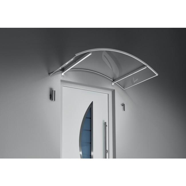 GUTTA • Bogenvordach mit LED-Technik