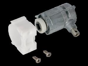 WAREMA Beipack Getriebe 3:1 mit Zapfen links, Sechskant 6mm
