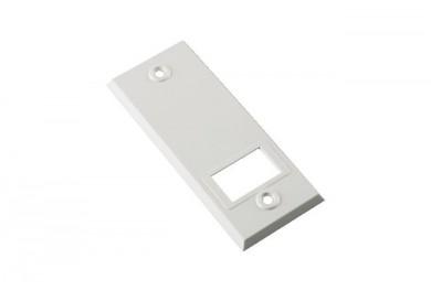WAREMA Abdeckplatte / Blende PVC, Weiß für Gurtwickler Unterputz
