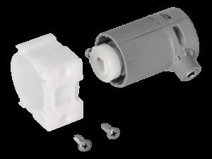 WAREMA Beipack Getriebe 2:1 ohne Zapfen links, mit 6mm Vierkant