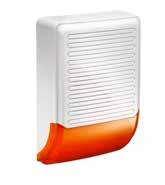 Somfy • Abschrecken und Alarmieren Home Keeper Außensirene mit LED-Blitzlicht
